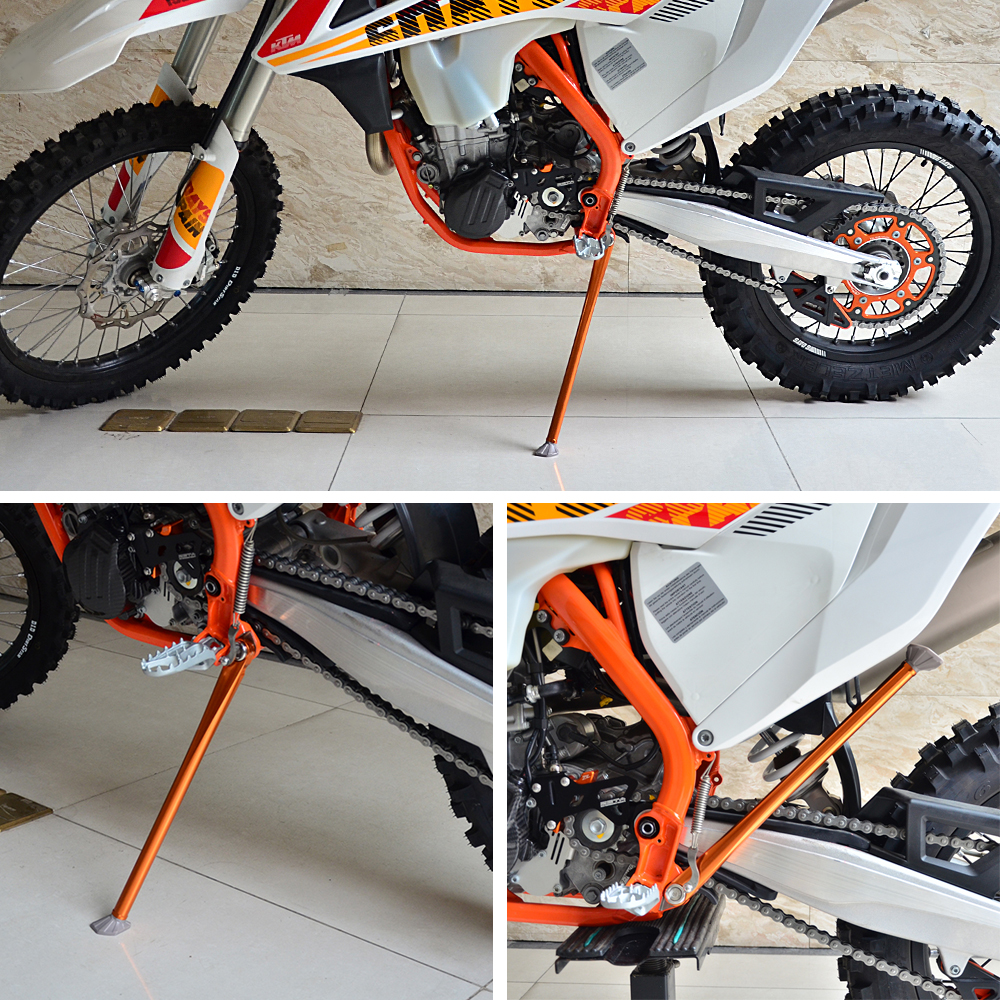hight resolution of aluminum rear suspension lowering kit for ktm 250 300 350 450 500 exc f six days