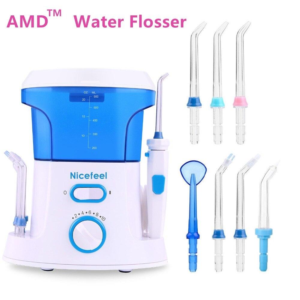 AMD Original Wasser Flosser Reinigen Zahn Irrigator Dental Floss Auch Besser Als Wasser Zahn Waterpick Neue Oral Bewässerung