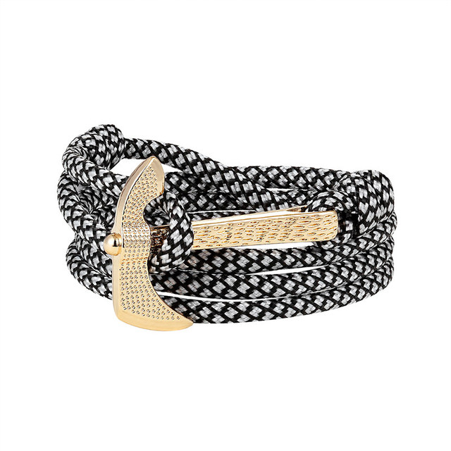 LIVVY Alloy Ax Bracelet...
