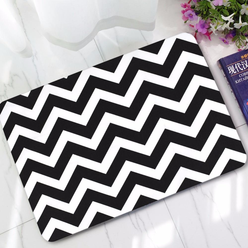 and amp x ideas stripz bath interdesign regarding in gray white mat mats home design rug black grey