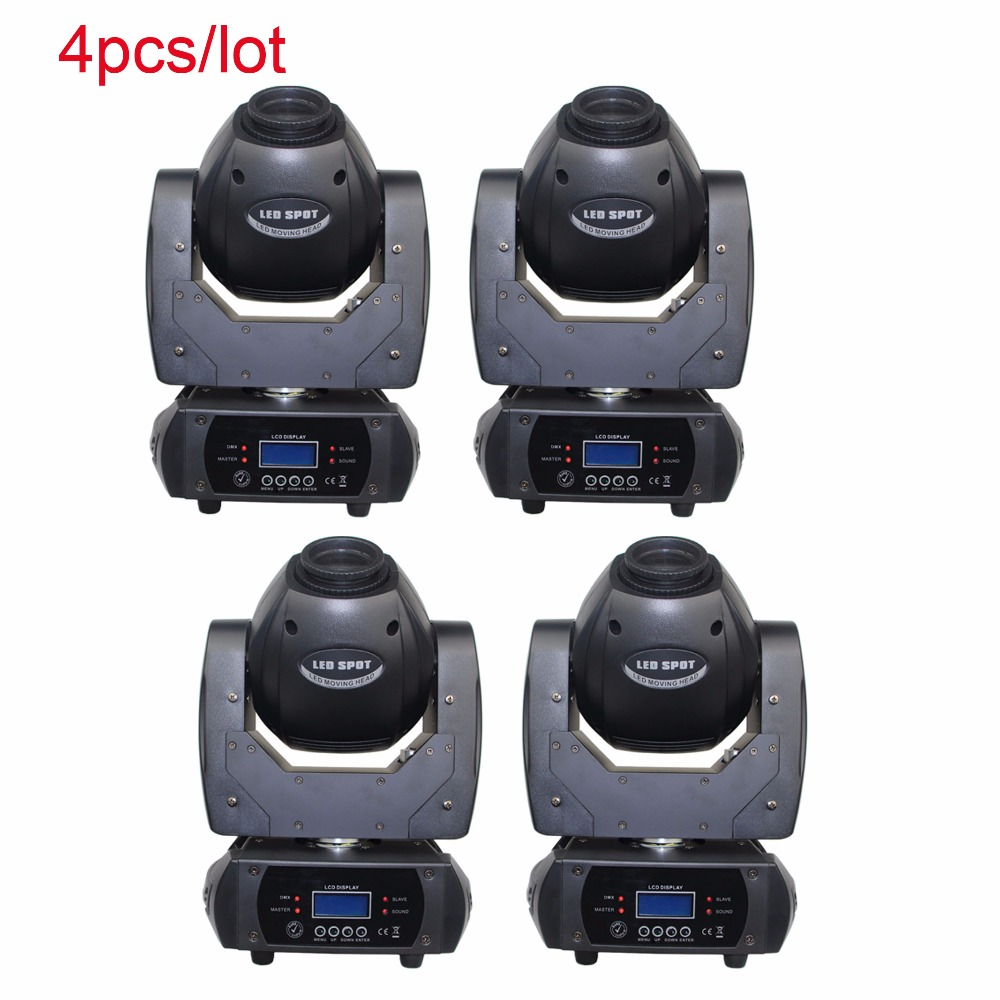 60W LED moving head spot stage light with prism dmx light 12ch for home party night