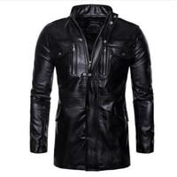 Retro Classic Motorcycle Jacket Men Pigskin Moto Jacket Motorcycle Clothing Biker Coats Windproof Jacket M 5XL