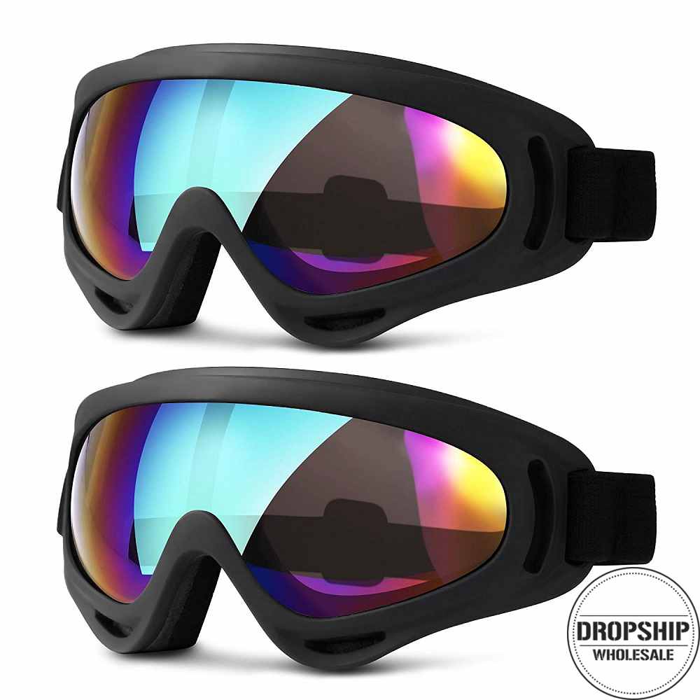 Men Women Ski Goggles For Winter Snowboard Skiing Snowmobile Sled Sunglasses Cycling Googles Motorcycle Windproof AIRSOFT Goggle