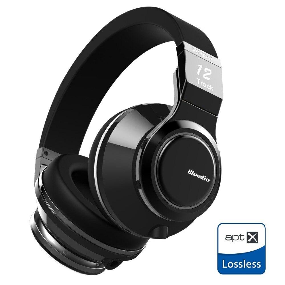bilder für Neue Original Bluedio V (Victory) Drahtlose Bluetooth Kopfhörer mit PPS 12 treiber und mikrofon unterstützt APTX Headset