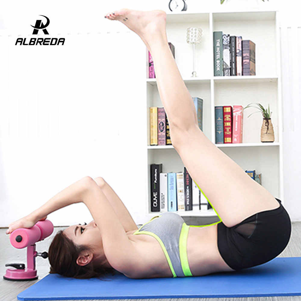 682b6a69850e66 ... ALBREDA Sit-up Push-up Stands Abdomen With Sucker Portable Fitness for  Home Body ...
