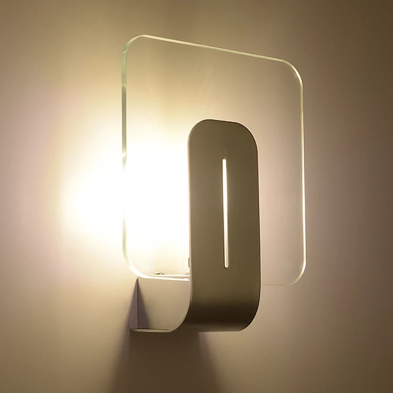 Modern Square G9 Led Wall Lamp Bedroom Hotel Stairs Tv Wall sconce Bedside balcony Corridor Lamp project Landscape Light modern lamp trophy wall lamp wall lamp bed lighting bedside wall lamp