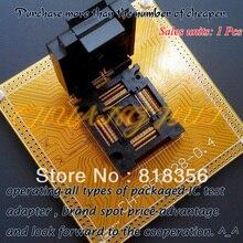100% NEW CH-QFP128-0.4Test socket FPQ-128-0.4-02 Programmer Adapter  TQFP128/QFP128/FPQ128 pitch=0.4mm