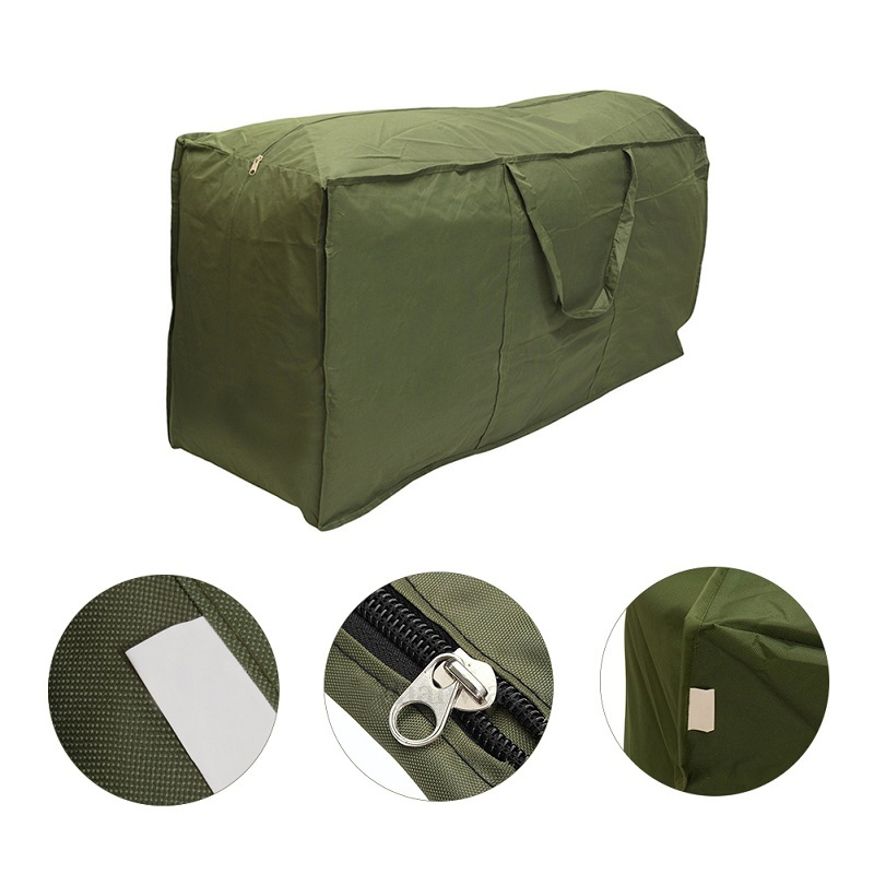 Best Quality 1Pc Outdoor Patio Furniture Chaise Waterproof Protect Cover Storage Bag Christmas Tree Storage Cushion 1