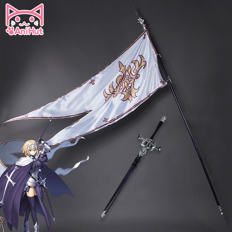 Anihut Fate Grand Order Jeanne d Arc Cosplay Props Fate Apocrypha Cosplay Prop Joan of Arc