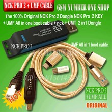 2019 original new NCK Pro Dongle NCK Pro 2 Dongl nck pro key ( NCK DONGLE UMT DONGLE 2 in1 ) UMF all in one boot cable
