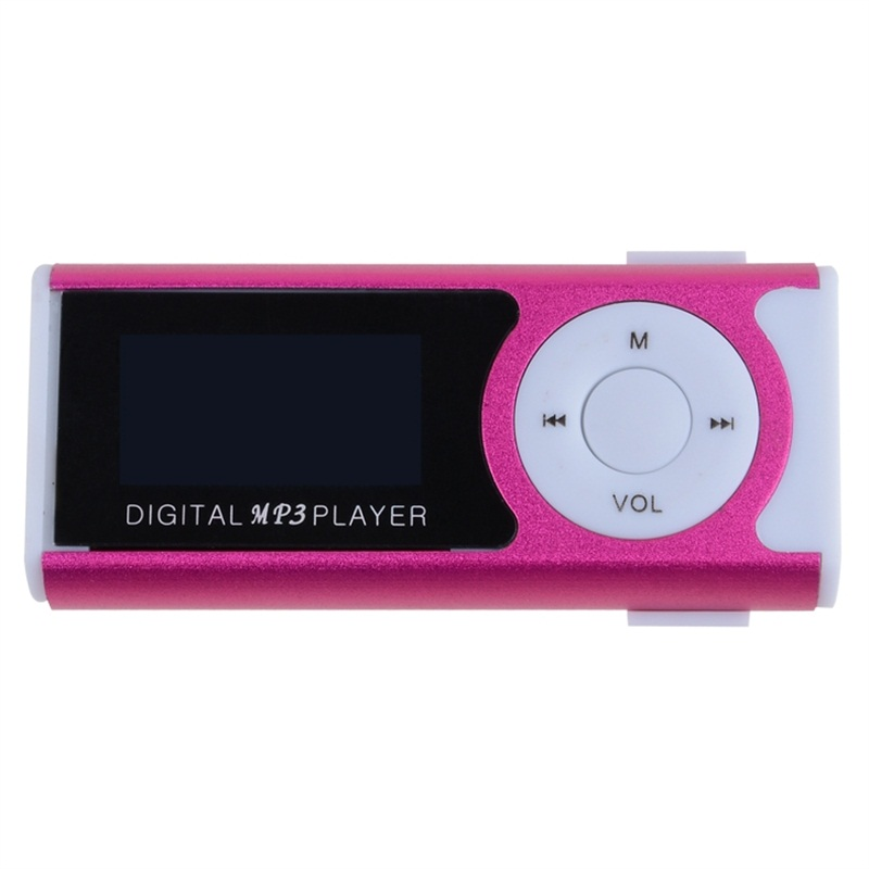 Nuevo mini clip Pantalla LCD Reproductor de música MP3 Reproductor - Audio y video portátil - foto 2