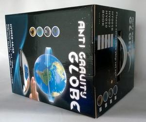 Image 5 - 6 pollici Creativo Levitazione Magnetica di Galleggiamento Globe Mappa Del Mondo la Best Società Desktop di Decorazione Di Natale regalo di anniversario