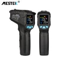 MESTEK Non contact Infrared Thermometer Digital Temperature Measurement Multi function IR Laser Thermometer Gun 50 550 Degree