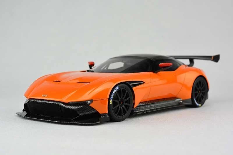 Resin Car Model Frontiart Aston Martin Vulcan Avan Style 1 18 Orange Small Gift Car Model Resin Car Modelsaston Martin Aliexpress