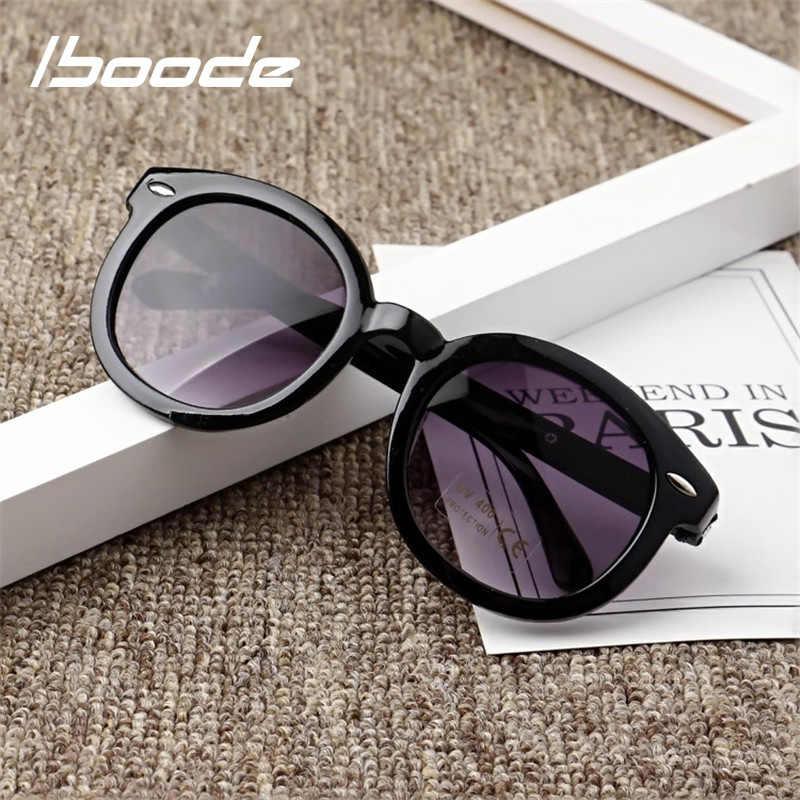 Iboode детские солнцезащитные очки детские черные солнцезащитные очки  анти-УФ детские солнцезащитные очки-затененные 949b015b54c