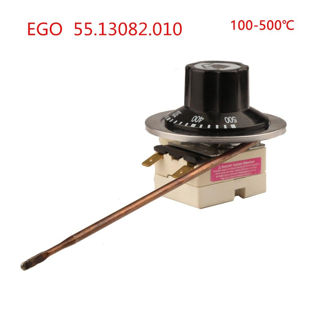100 500 Celsius Degree Germany EGO Temperaturregler Capillary Thermostat 55 13082 010 High Temperature Controller