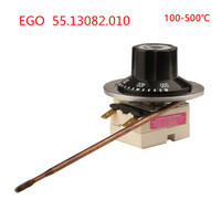 100 500 Celsius Degree Germany EGO Temperaturregler Capillary Thermostat 55.13082.010 High Temperature Controller