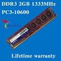 Настольных памяти пожизненная гарантия для ADATA DDR3 2 ГБ 1333 мГц PC3-10600U 1333 2 г оперативной памяти компьютера 240PIN оригинальной аутентичной