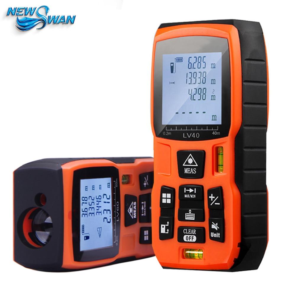 Laser Rangefinder 40m 50m60m 80m 100m120m Digital Laser Distance Meter Battery-powered Laser Range Finder Tape Distance Measurer