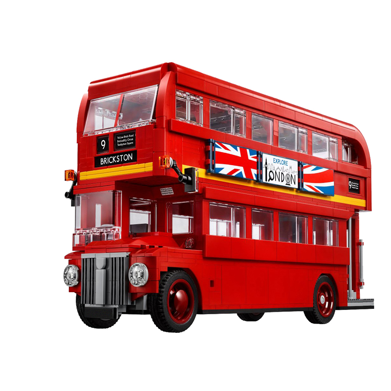 Lepin 21045 The London Bus Set Building Model Children Educational Blocks Bricks Toys Gift 10258 dayan gem vi cube speed puzzle magic cubes educational game toys gift for children kids grownups