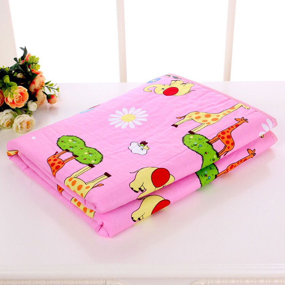 URSM MOMBABY STORE Reusable Big Size 120*150cm Baby Changing Pads  Covers Water-proof Baby Diapers Nappy Cotton Bed Sheet Changing