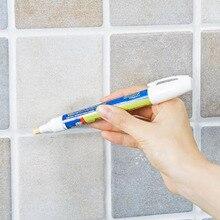 Нетоксичная Затирка ремонтная плитка маркер водостойкий без запаха керамическая плитка ремонтная ручка с реверсивным пером Прямая поставка