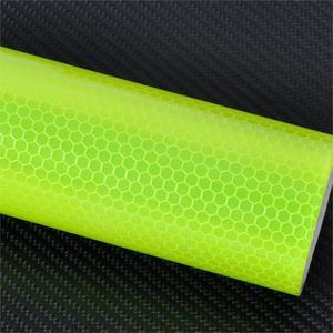 Image 3 - Cigall 4 colores 3m X 15cm reflectante seguridad advertencia cinta película pegatina longitud 3M Superficie suave resistencia al agua