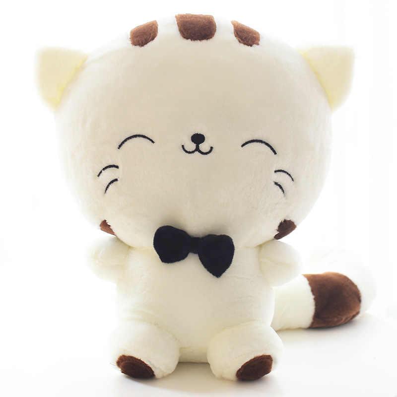 18 см/28 см/40 см/45 см плюшевые Игрушечные лошадки Симпатичные Новинка Большие Лицом Cat Большой куклы для мальчиков Обувь для девочек подруги творческий подарок на день рождения