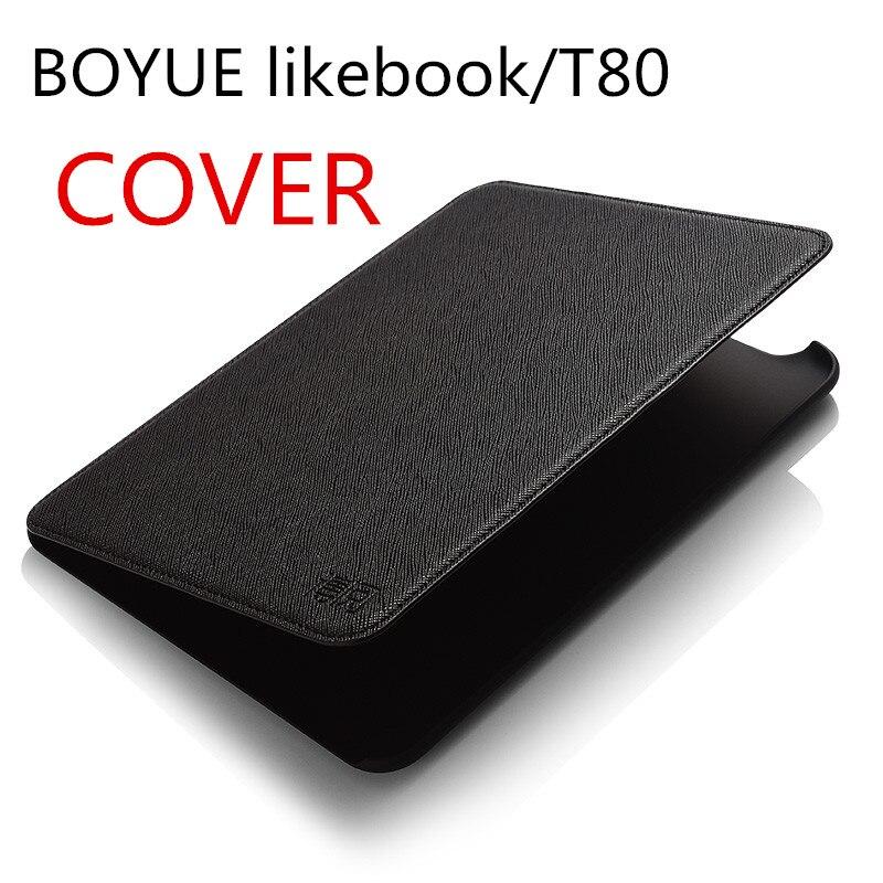 Cas de boyue likebook/T80 ebook couverture pour likebook/t80 ereader livraison gratuite