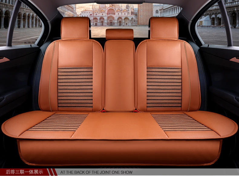 auto cushion set leather pu for Renault Laguna Scenic Megane Velsatis Louts LAND-ROVER Freelander Range Rover Discovery defender