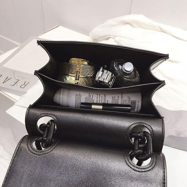 Women's Crossbody Handbag With Small Flap