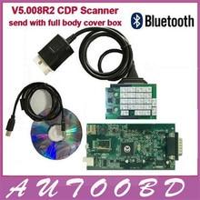 Mejor Con Bluetooth Tablero Verde 5.008 R2 Keygen TCS CDP PRO Scan Scanner Tool para Multi-Marca Nuevo y Viejo OBD OBD2 Coches/Camiones