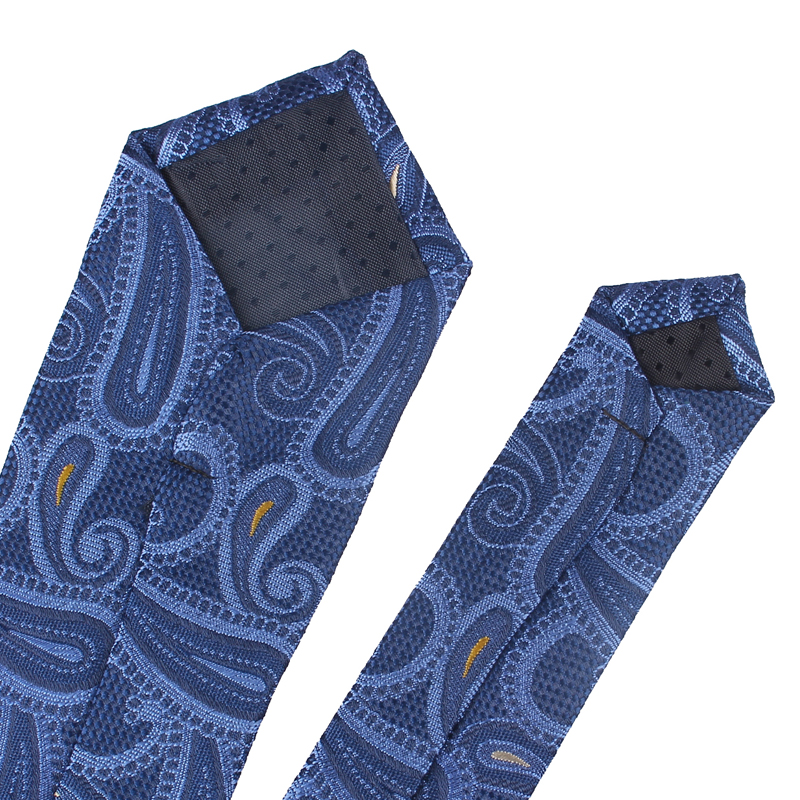 Fashion Skinny Neck Ties for Men Casual Plaid Suits Tie Gravatas Blue Mens Neckties For Business Wedding 6cm Width Slim Men Ties 4
