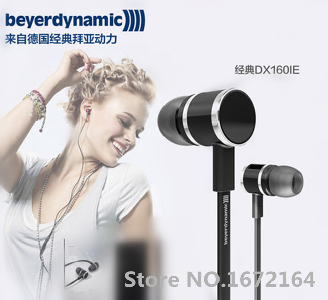 ФОТО New Genuine Beyerdynamic DX 160IE DX160IE in ear earphone Hifi earphones perfect bass sound Short Cable+Extend Cable design