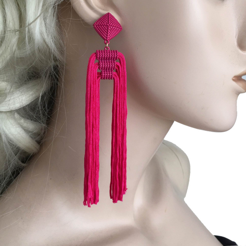 America and Europe pop atmospheric exaggerated fashion ladies earrings accessories in Drop Earrings from Jewelry Accessories