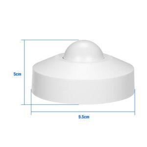 Image 3 - Mikrowelle Radar Sensor Licht Decke Schalter Belegung PIR Körper Motion Detektor 360 Grad Zeit Einstellung 5,8 ghz HF Systerm