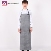 Rubber Apron Men Women Practical Waterproof Anti oil Pollution Aprons Kitchen Household Cleaning Accessories Butcher Apron 2018