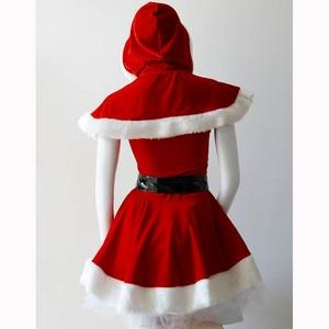 Image 5 - ユニークな2016高品質赤いセクシーなクリスマス衣装レディース包まれた胸ミニサンタドレスファッションクリスマスサンタ衣装W444047