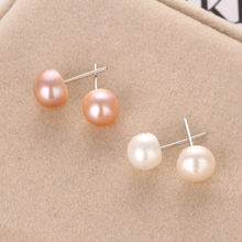 New Hot Jewelry New Brand Design Gold Color Pearl Hoop Earrings For Women New Accessories 4mm 6mm 8mm Earrings(China)