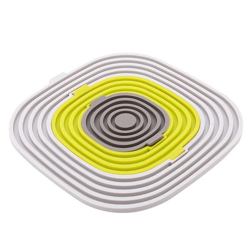Креативные Новые многофункциональные 3 в 1 силиконовые термостойкие кухонные принадлежности коврик Подставка под кружку чаша горячий кастрюля