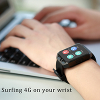 4G Smart Watch Exercise Heart Rate GPS Positioning SOS Help Elderly Card Phone Cell Phone WiFi Connection H5