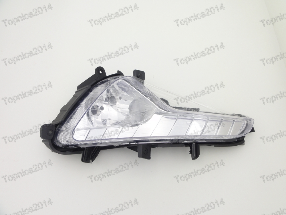 ФОТО 1Pcs LH Side Clear Fog Driving Lamp w/Bulb For Kia Sportage 2014-2015
