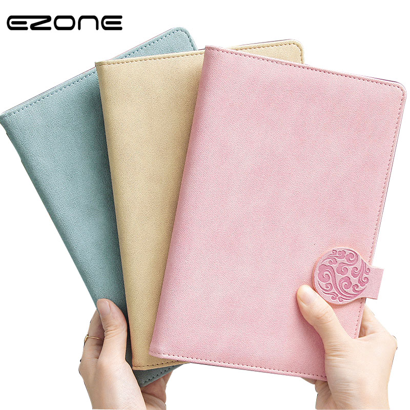 EZONE Business Notebook Vintage Literature Note Book Traveler Journal Planners Notepad Stationery Office School Supplies Gifts tunacoco japanese kokuyo wcn s6090 traveler notebook simple scheduel book bullet journal school office supplies bz1710063