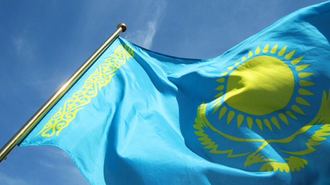 Kazakhstan Country Flag 3 X 5' International Banner 90*150cm Hanging Office/Activity/parade/Festival/Home Decoration Fashion