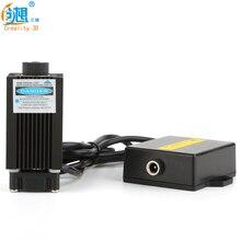 Высокая мощность 3 шт. 12 В синий фиолетовый свет лазерной гравировки, лазерной с упором для creality 3D мини лазерная гравировка 3D принтера
