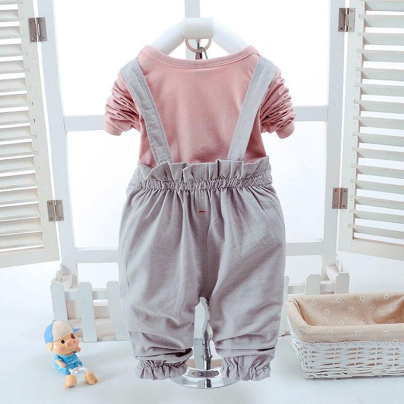 2018 Naujas mados kūdikių mergaičių drabužių rinkinys Vasaros - Kūdikių drabužiai - Nuotrauka 4