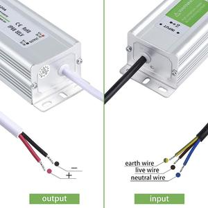 Image 4 - IP67 Waterproof LED Driver 50 60Hz 10W 30W 50W 60W 100W 120W 300W LED Power Supply AC90 265V Lighting Transformers For LED Power