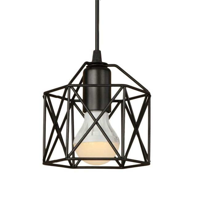 Simple Loft Style Iron Droplight Industrial Vintage LED Pendant ...
