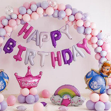 macaron balloons 50pcs / lot 12 inch round latex love balloon girl birthday party ballon decoration anniversaire baby shower