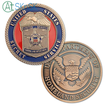 New Arrival 1/3/5/10pcs/lot United States Secret Service U.S. Department of Homeland Security Challenge Coin